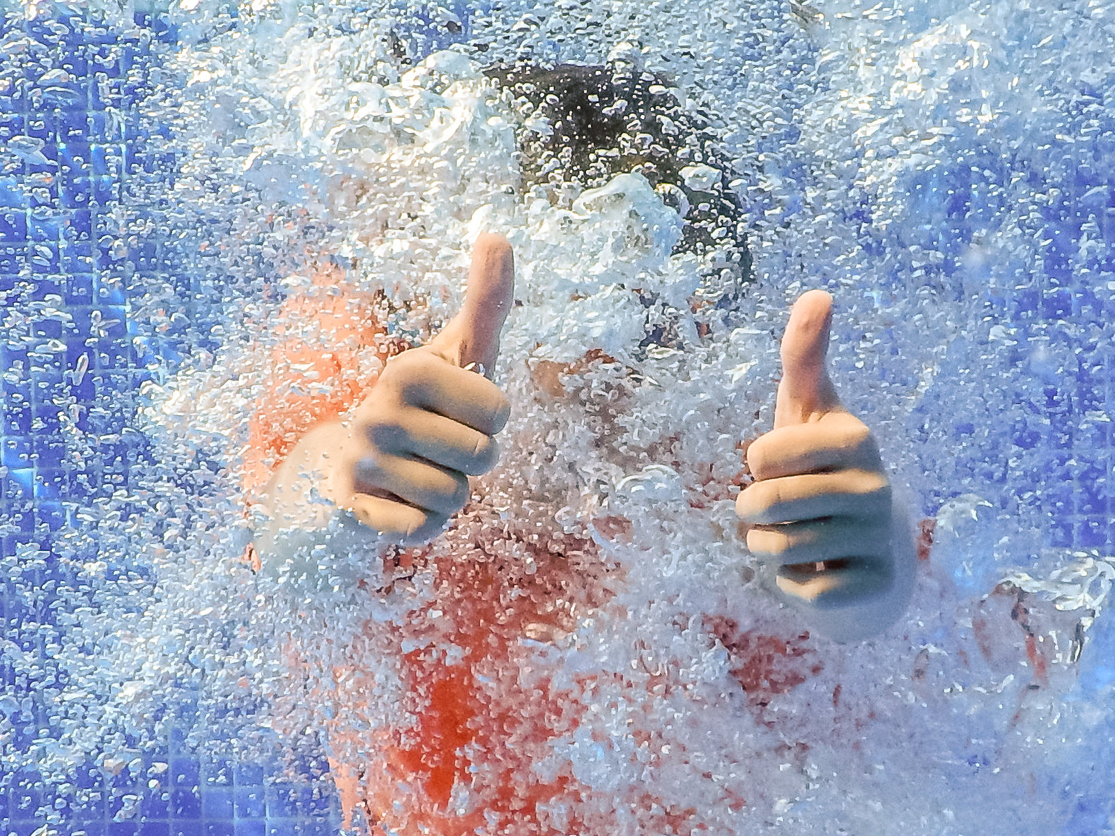 Thumbs up by Kevin Gale